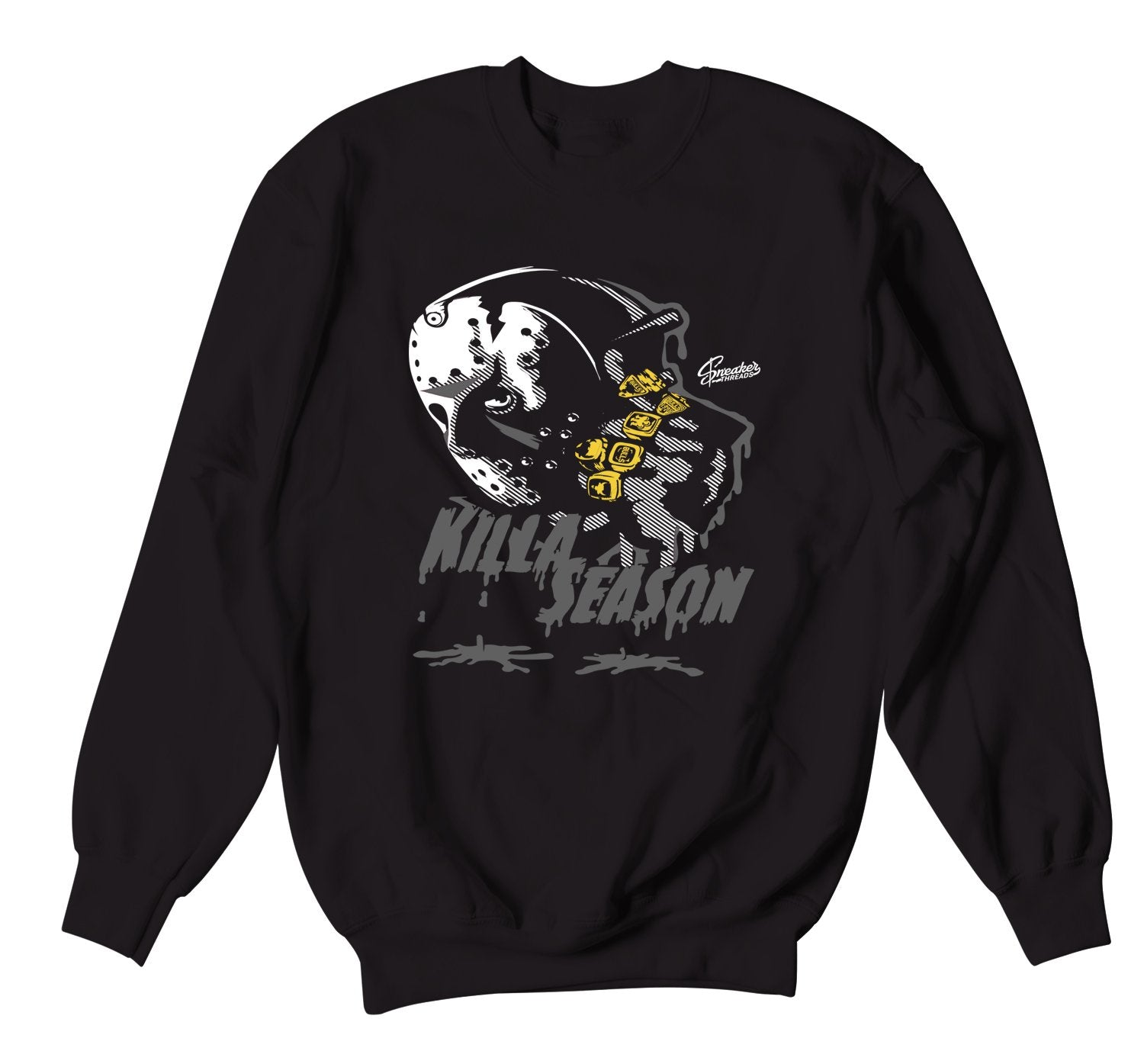 Black Cat Jordan 4 sneaker collection matching sweater crewnecks