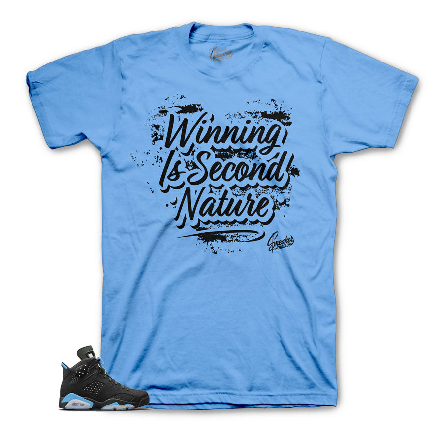 Jordan 6 UNC tees match | second nature sneaker tee