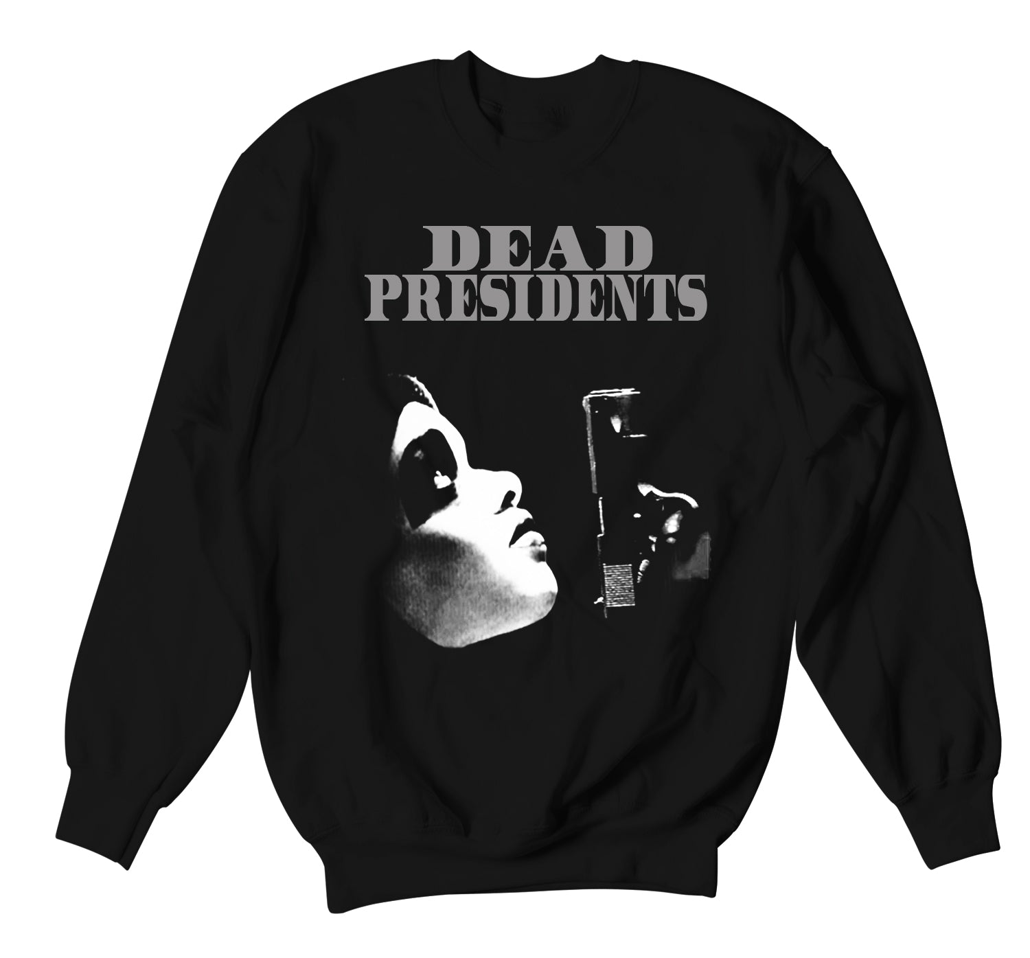 Foamposite Anthracite Sweater - Dead Pres - Black
