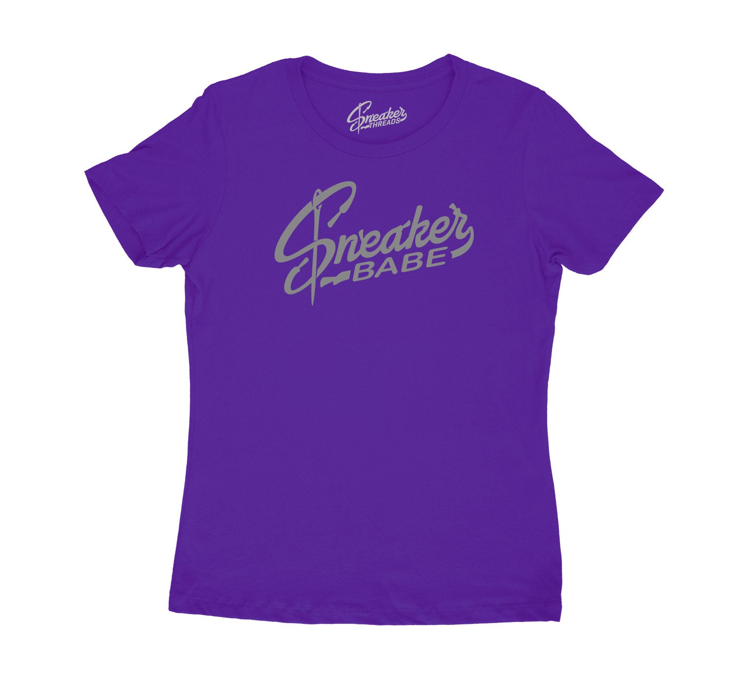 Womens Mid 1 Unite Shirt - Sneaker Babe - Purple