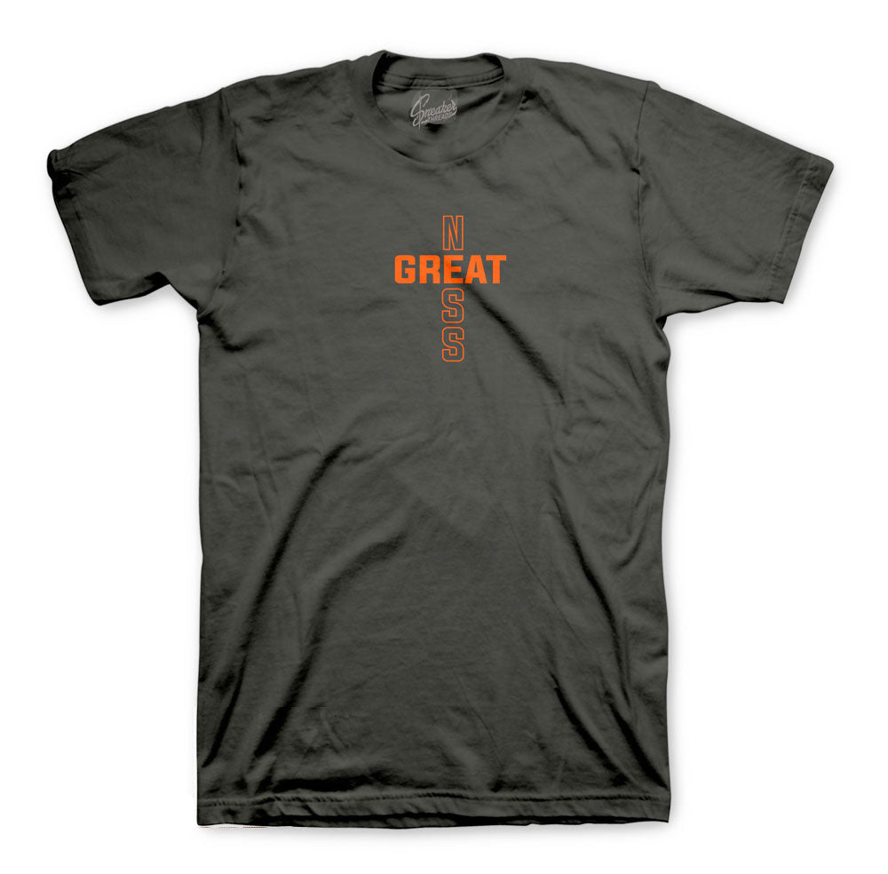 Yeezy Magnet Shirt - Greatness Cross - Charcoal
