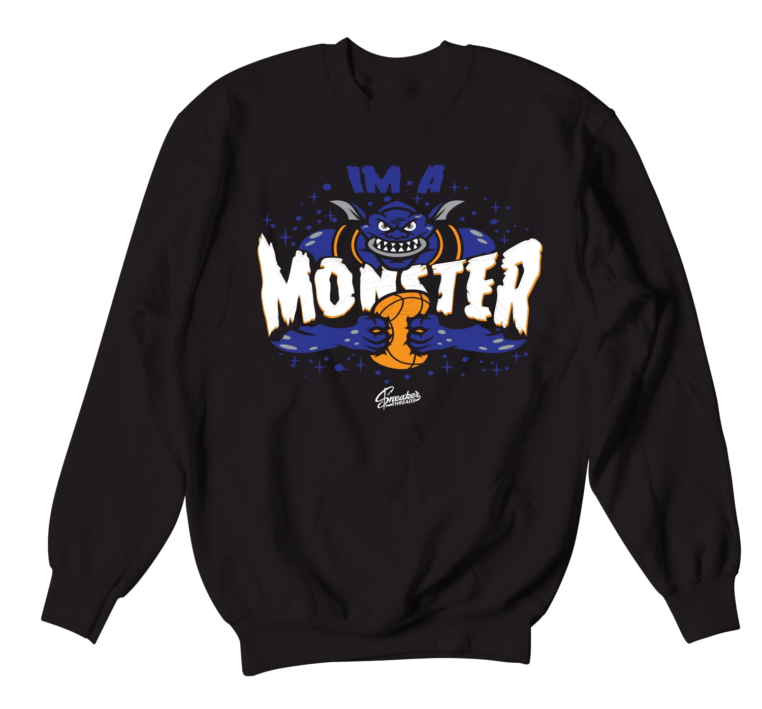All Star 2020 Monstars Sweater  - I'm A Monster - Black