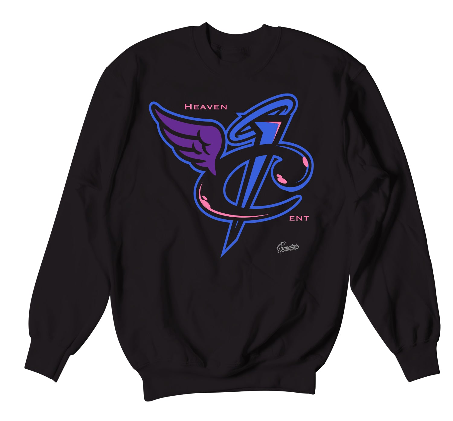 Crewneck collection to match the foamposite gradient sole