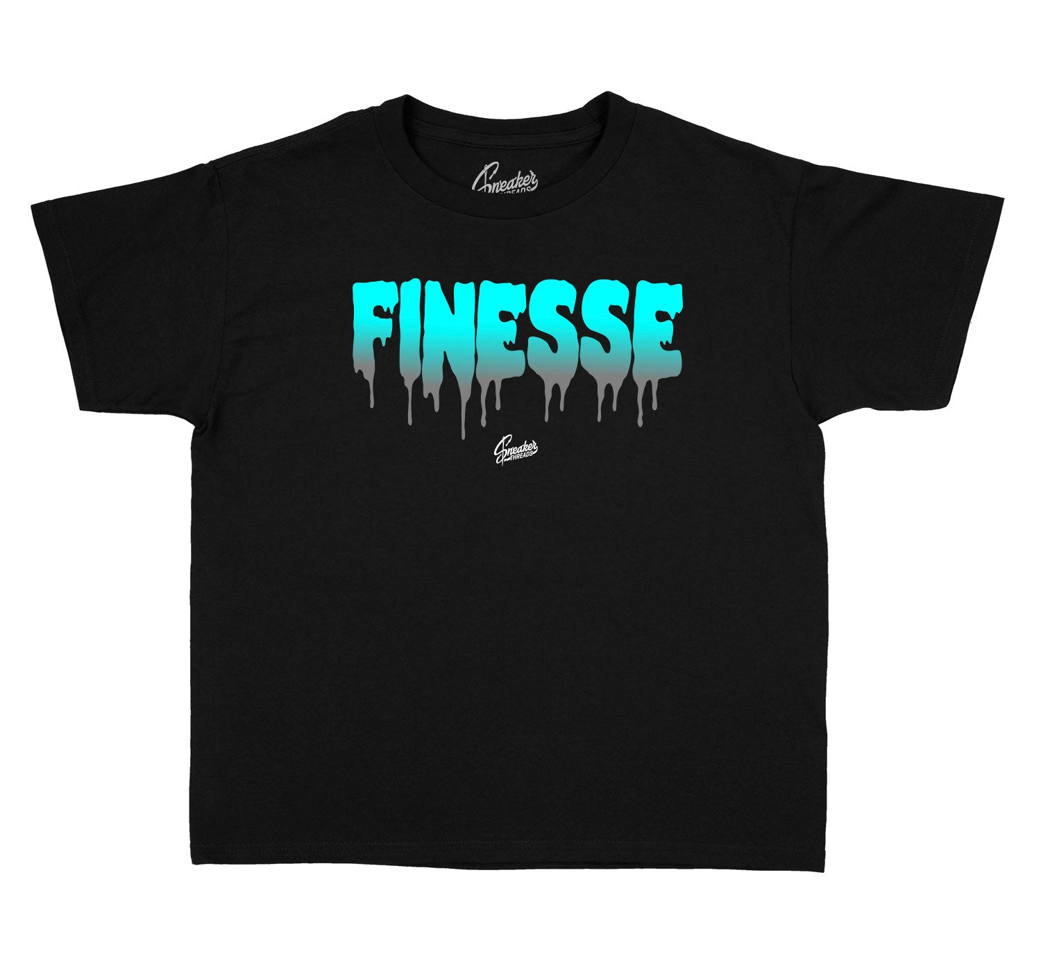Finesse Kids shirts to match Jordan 13 Island Green Collection