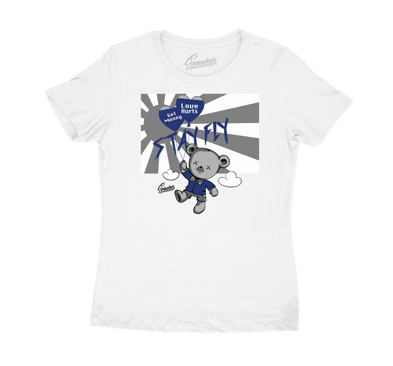 girls tee to match the jordan1 midnight navy shioes