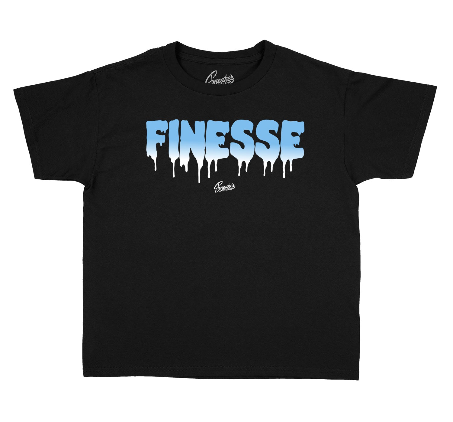 Kids University Blue 1 Shirt - Finesse - Black