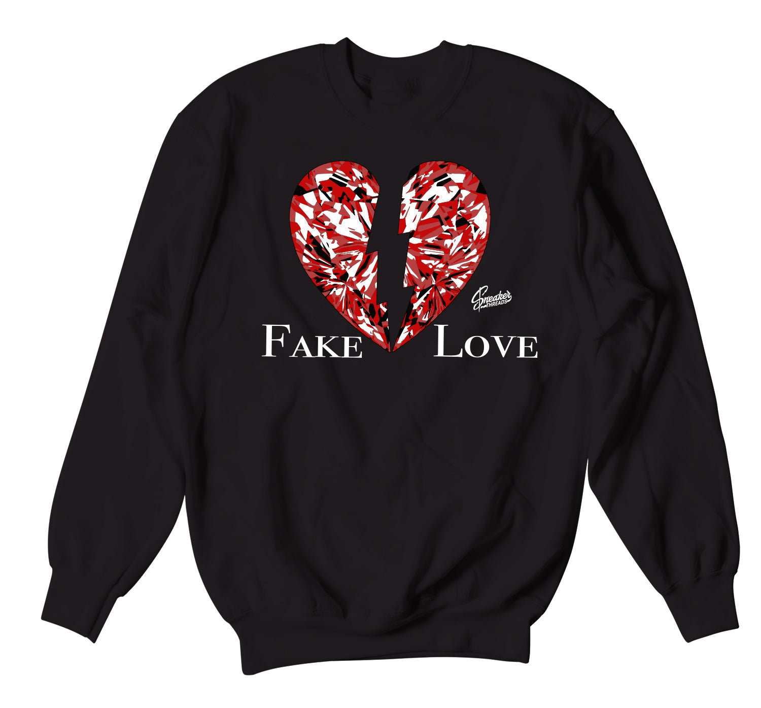 Jordan 6 Carmine Sweater - Fake Love - Black