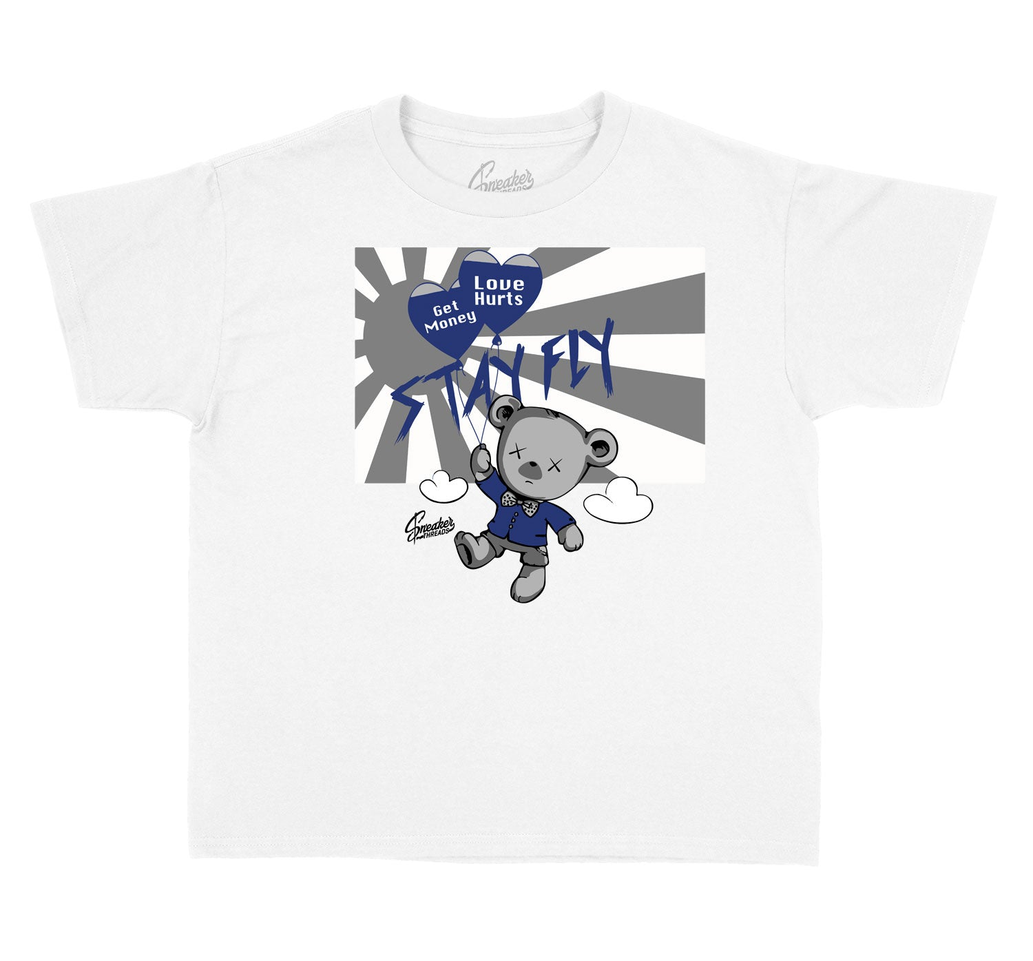 kids t shirts matching jordan 1 midnight navy sneakers