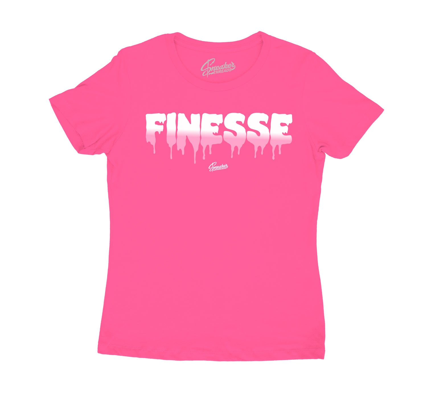 Womens Ice Cream 12 Shirt - Finesse - Pink