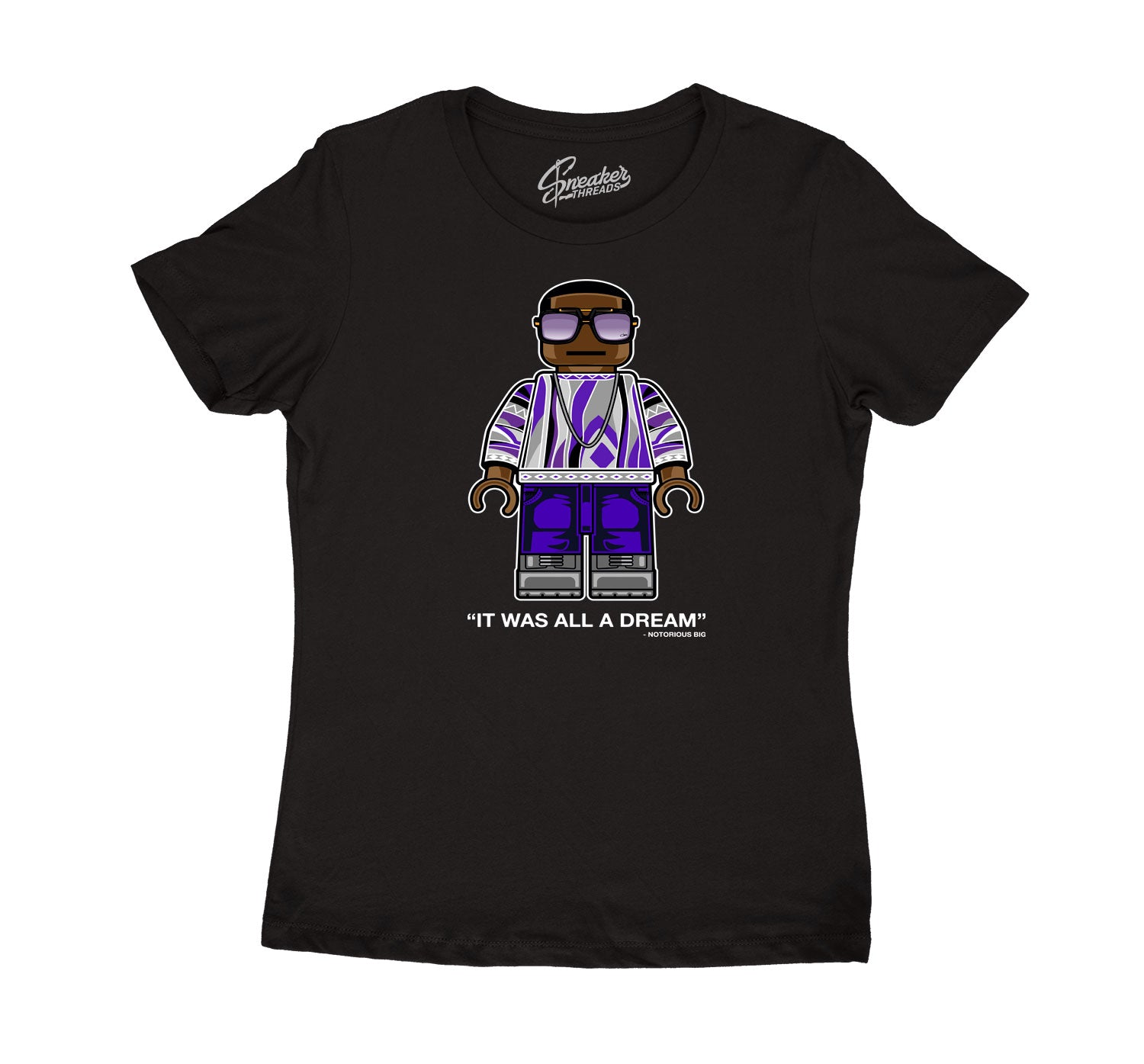 Womens Dark Concord 12 Shirt - BIG Bic - Black