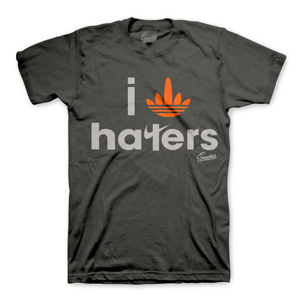 Yeezy Magnet Shirt - I Stripe Haters - Charcoal