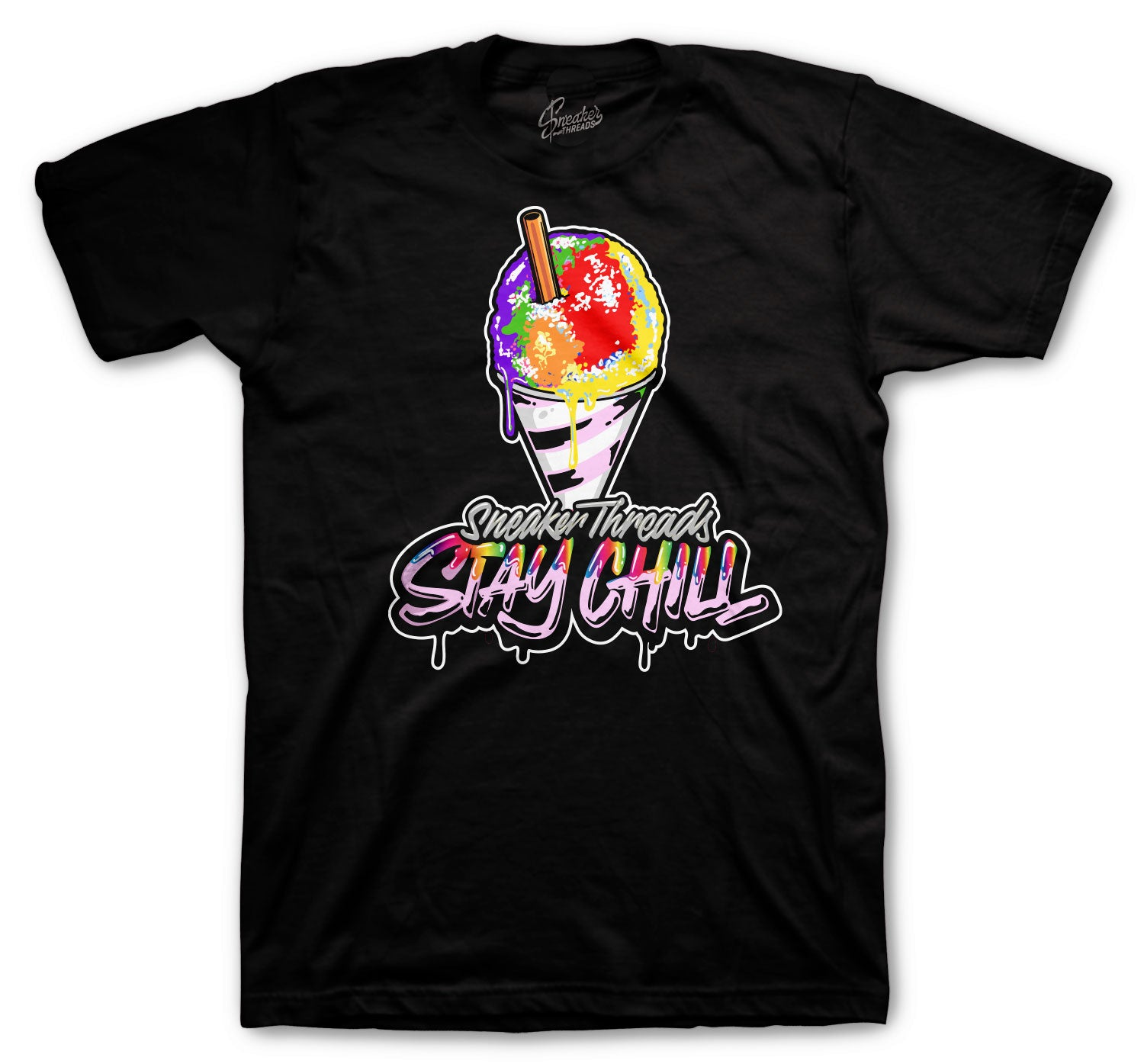 Jordan 1 Balvin Shirt -  Stay Chill - Black