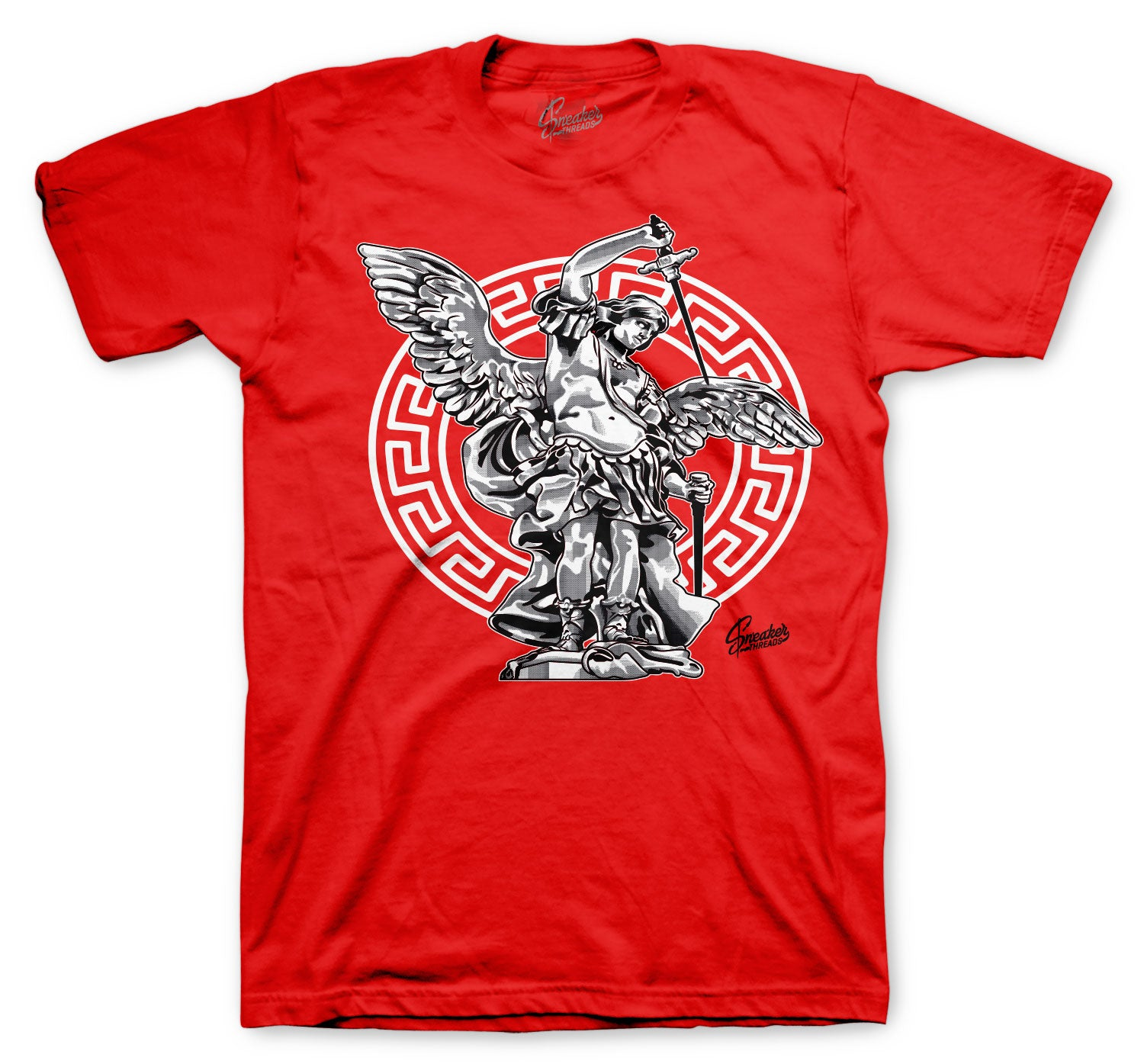 Jordan 1 AJKO Chicago Shirt - ST Michael - Red