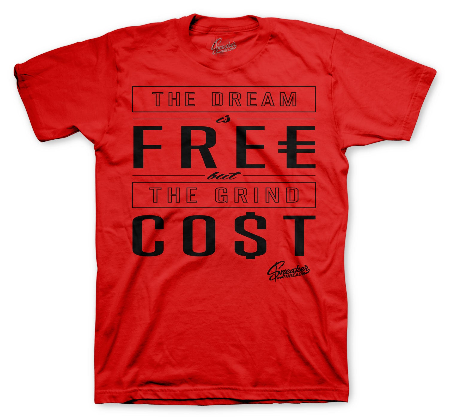 Jordan 12 Reverse Flu Shirt - Cost - Red