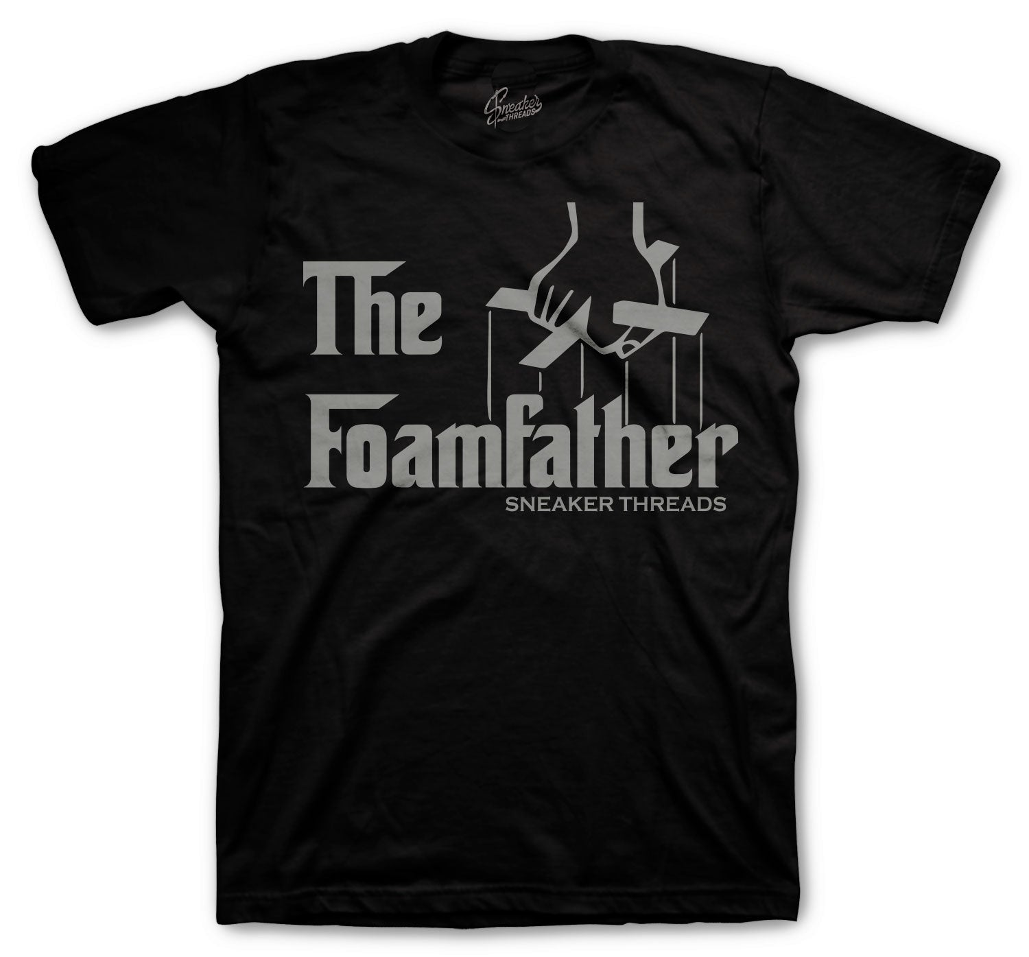 Foamposite Anthracite Shirt - Foamfather - Black