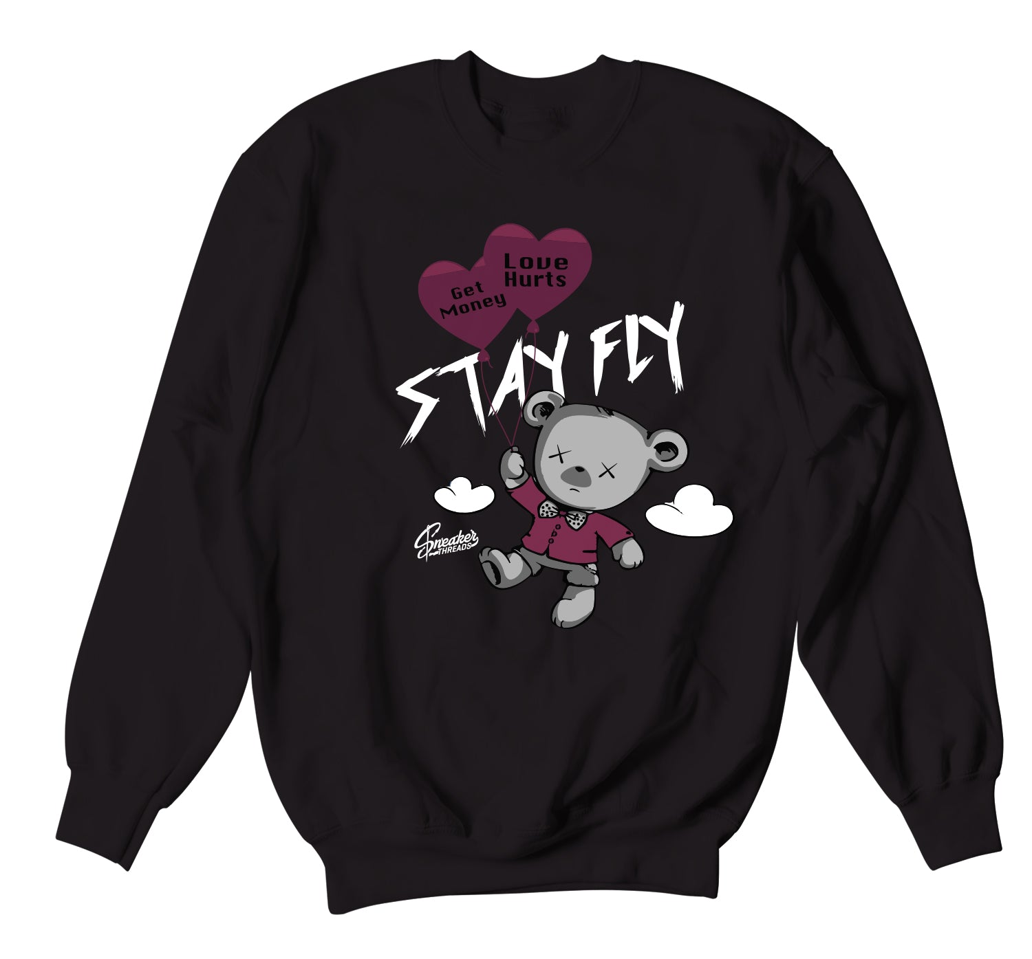 Jordan 6 Singles Day Sweater - Money Over Love - Black