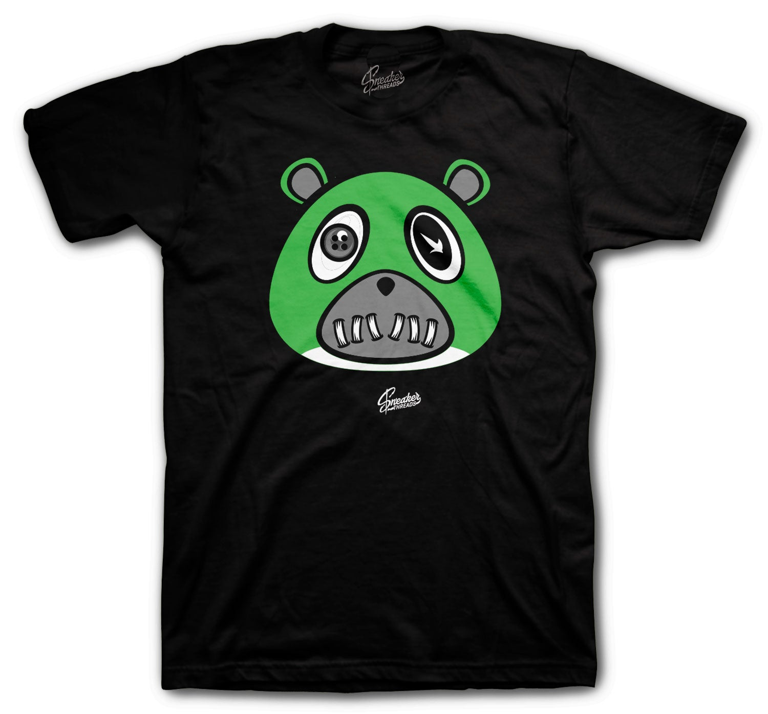 Jordan 13 Lucky Green Shirt - ST Bear - Black