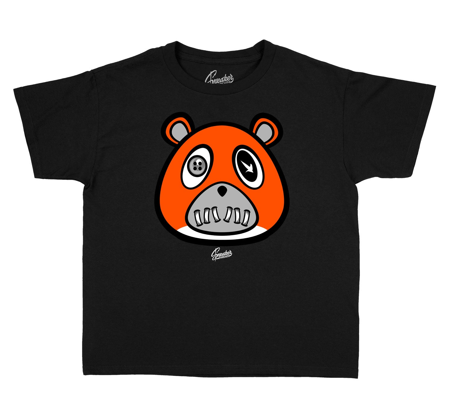 Kids Starfish Shirt - ST Bear - Black