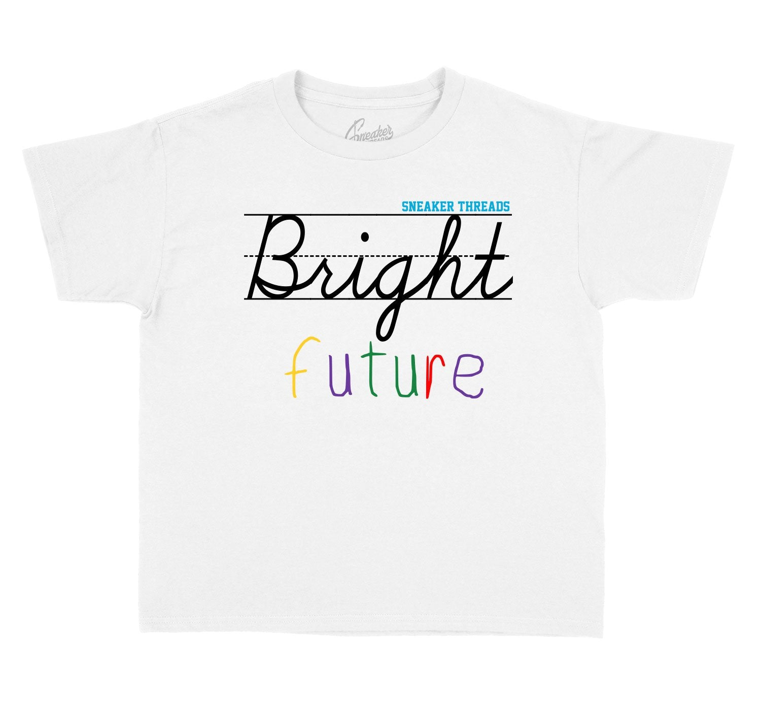 Jordan 13 Bright Future sneaker collections kids tees
