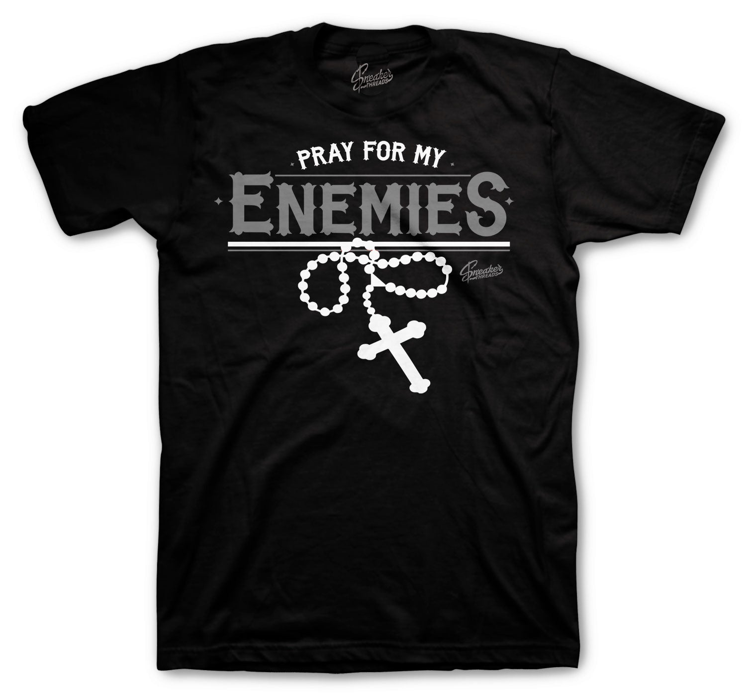 Mini Foamposite Swoosh Enemies Black Tee to match perfect