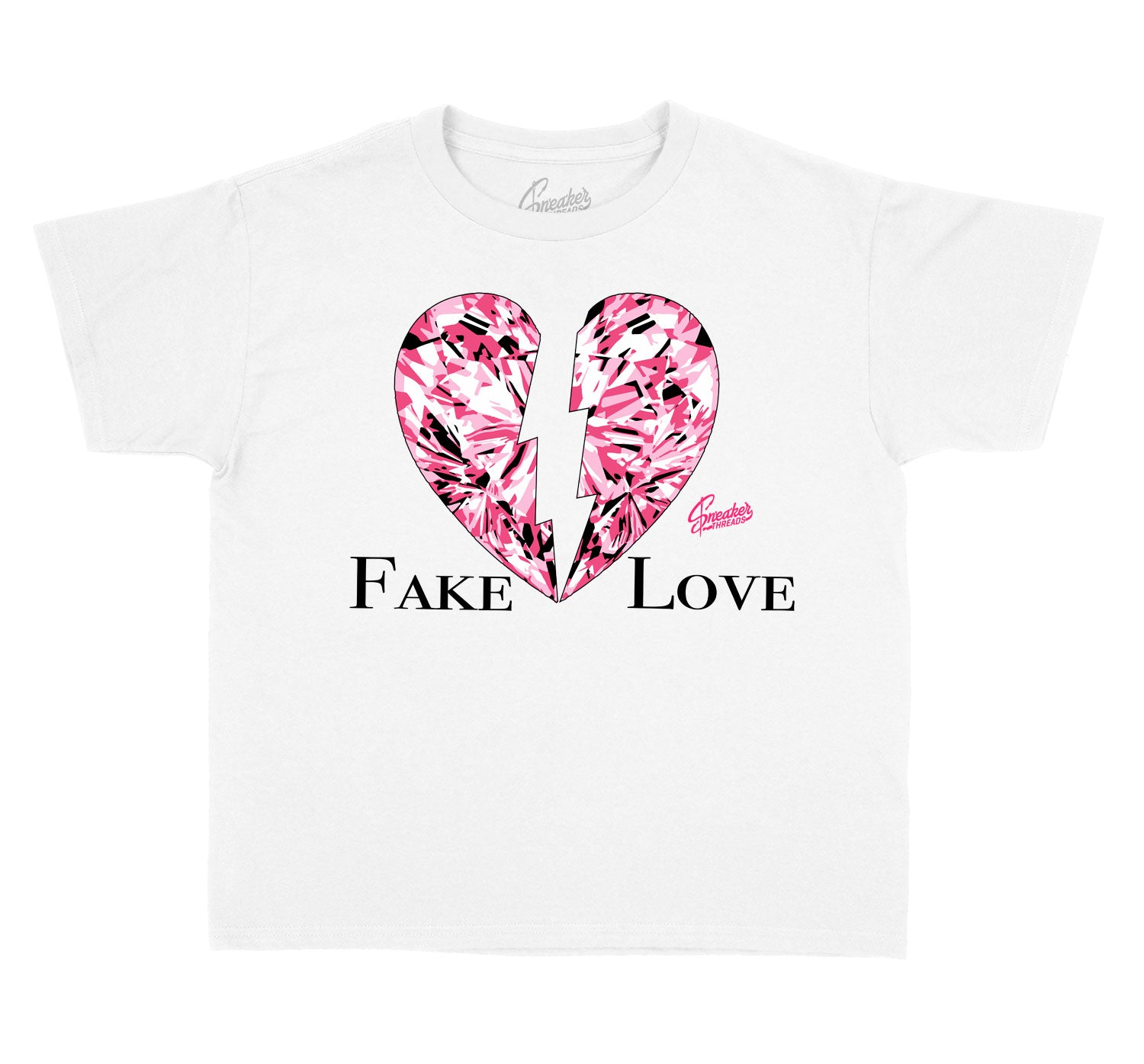 Kids Ice Cream 12 Shirt - Fake Love - White