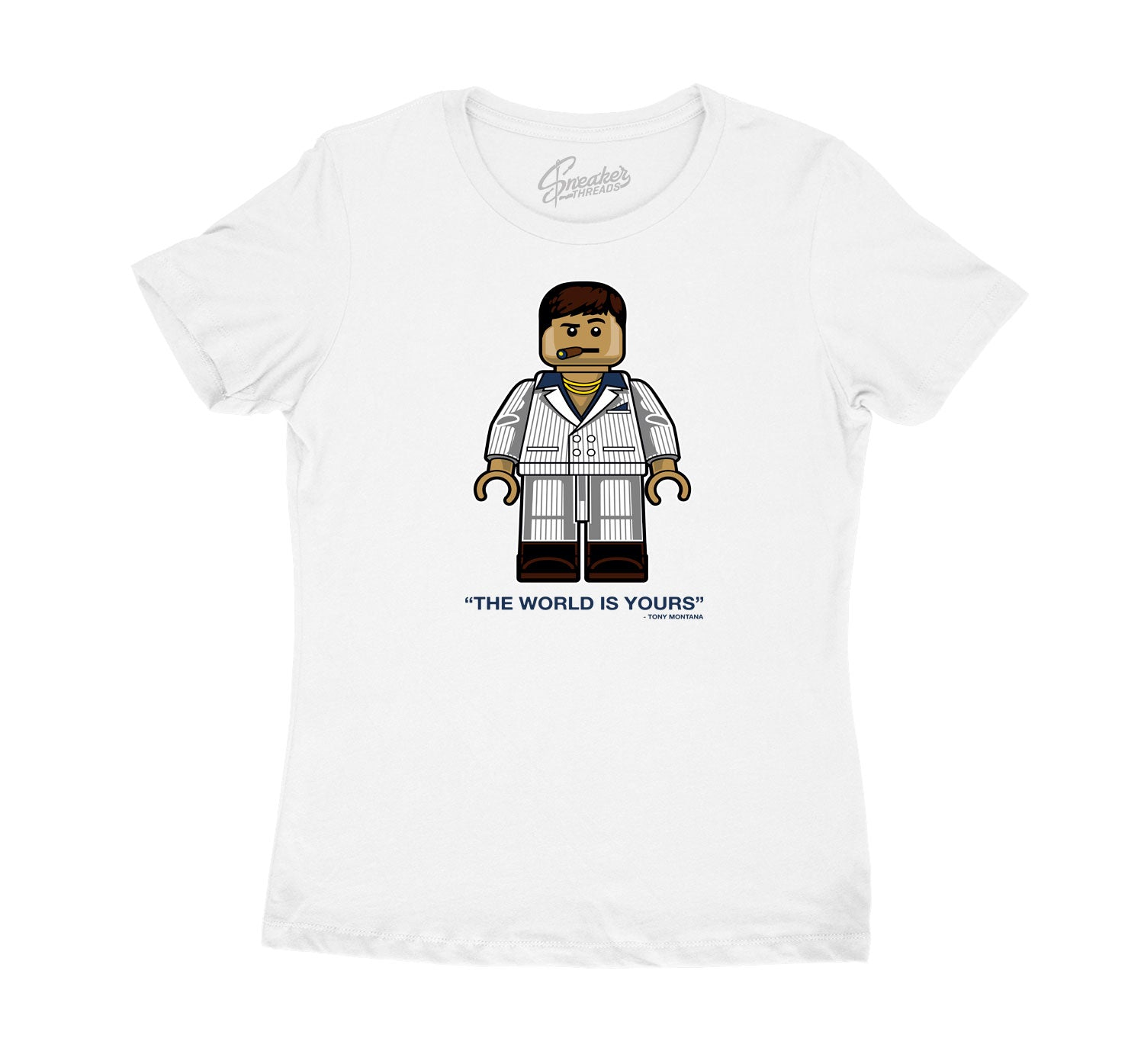 Womens Flint 13 Shirt - Tony Bic - White