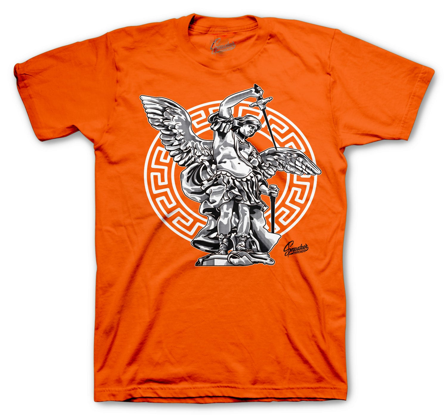 Foamposite Pro Halloween Shirt - St. Michael - Orange