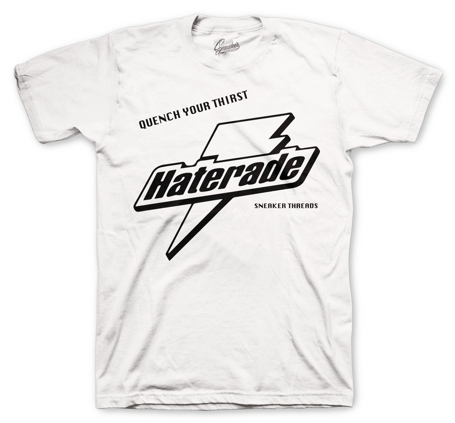 Foam Pro White/Black Shirt - Haterade - White
