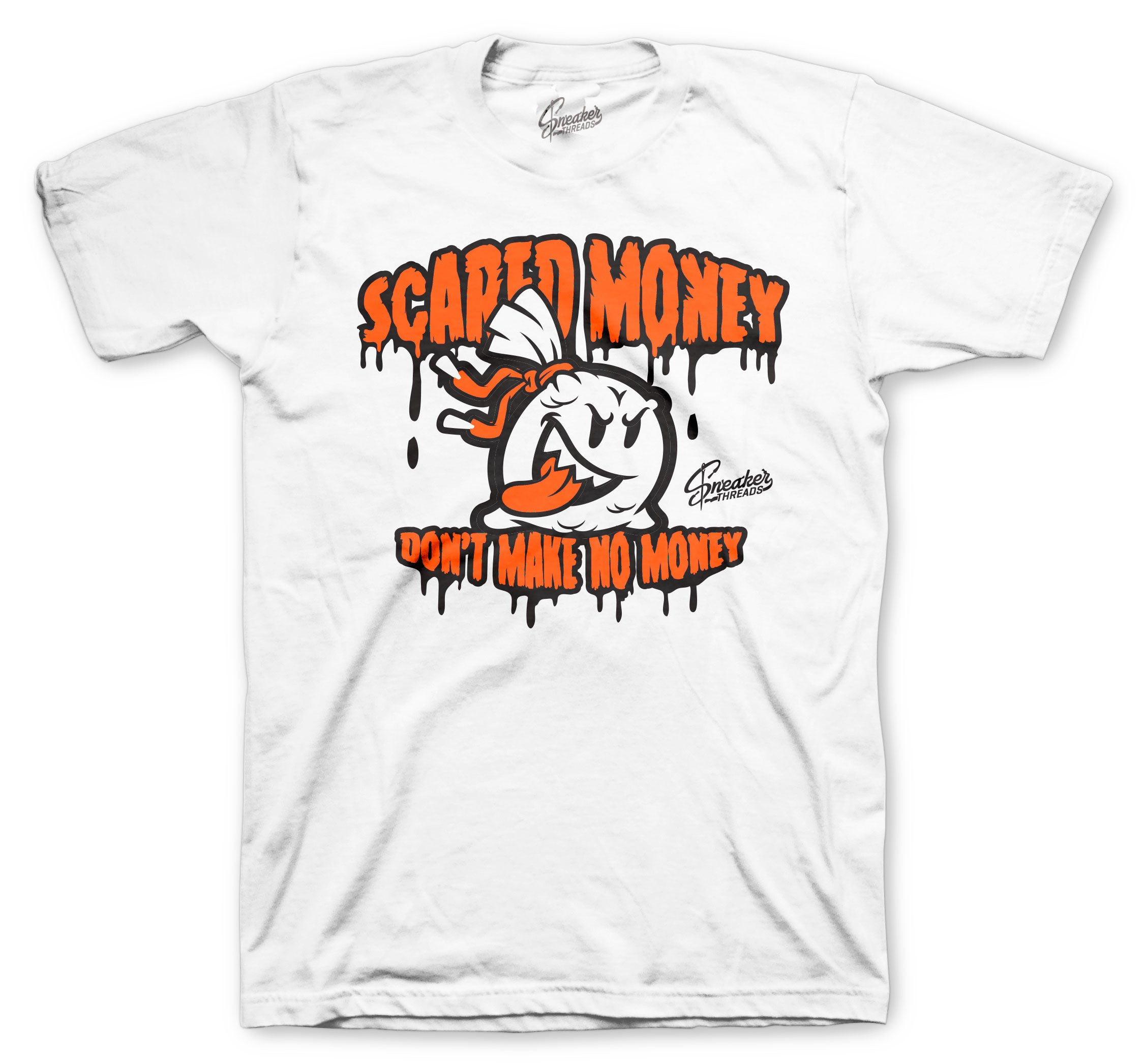 Foams Shattered Back Boards coolest Scared money shirt for men
