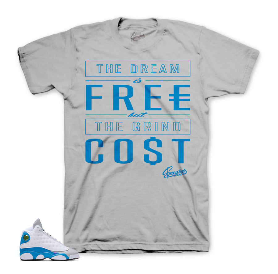 Jordan 13 italy blue tees match retro 13 | Sneaker matching tees.