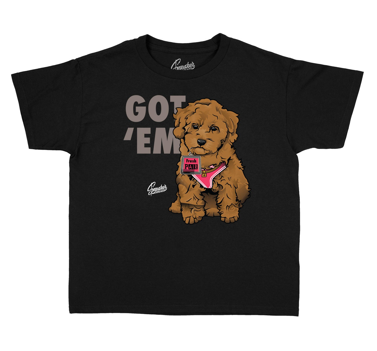 Kids Taupe Haze 4 Shirt - Got Em - Black