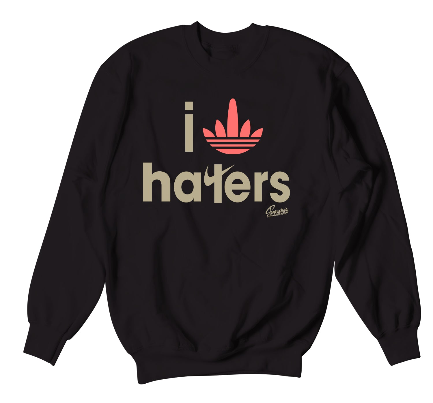 Yeezy Sand Taupe 350 Sweater - Haters - Black