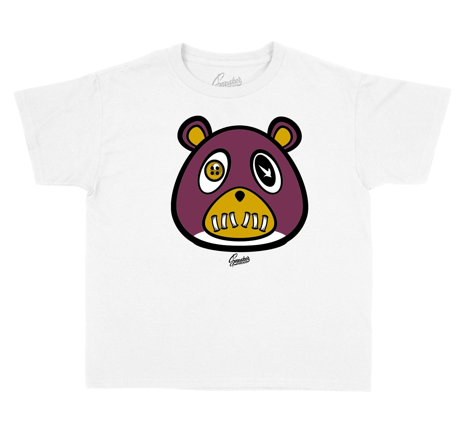 Kids Singles Day 6 Shirt - ST Bear - White