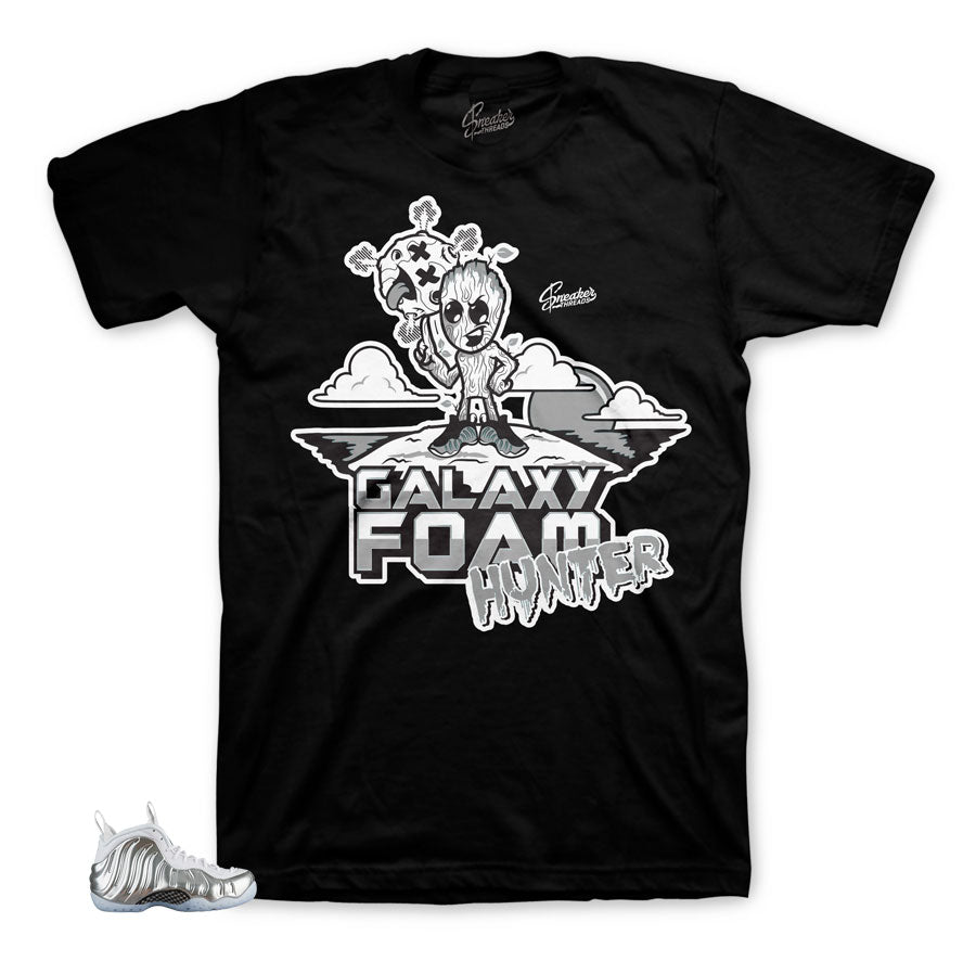Foamposite chrome tees match shoes | Official foam shirts.