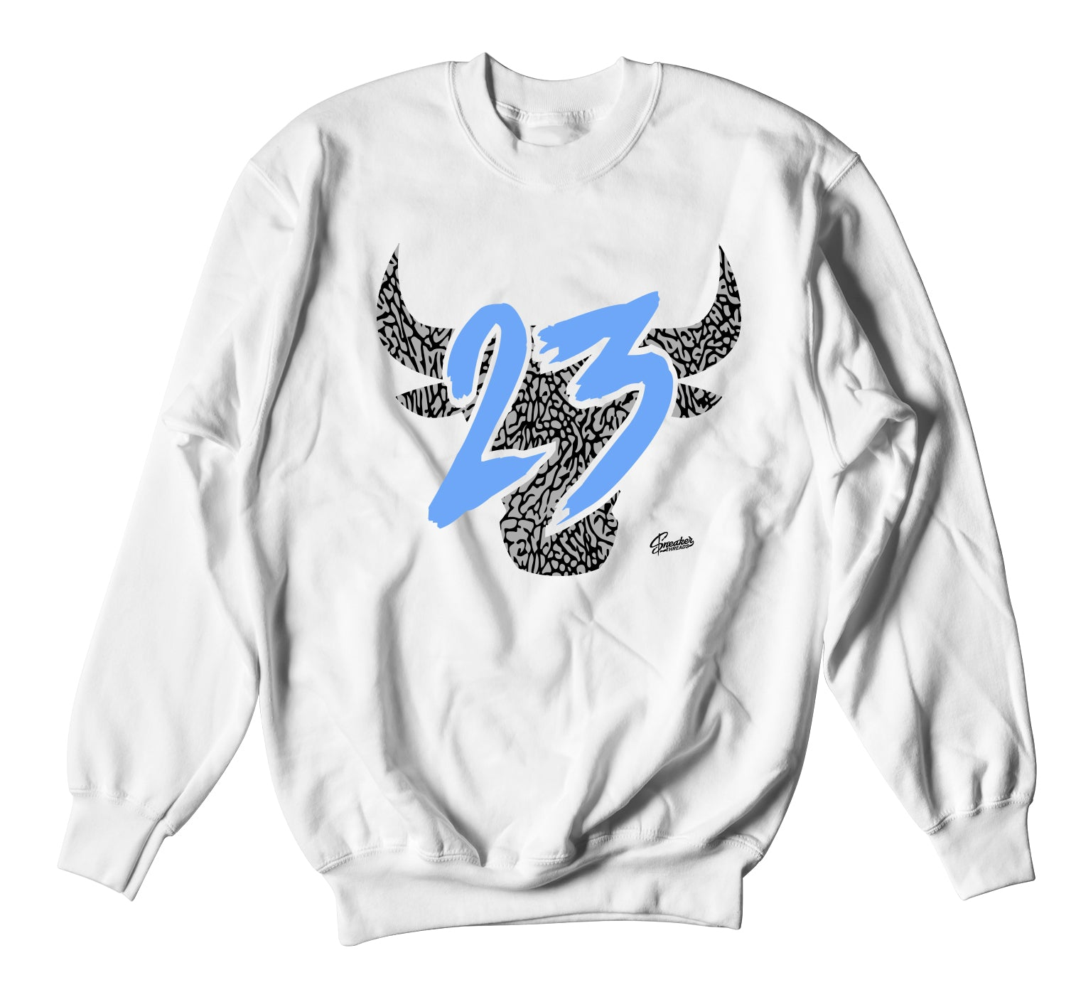 Jordan 3 UNC Sweater - Toro - White