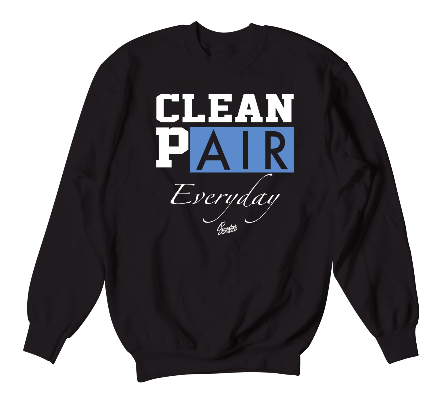 Jordan 3 UNC Sweater - Everyday - Black