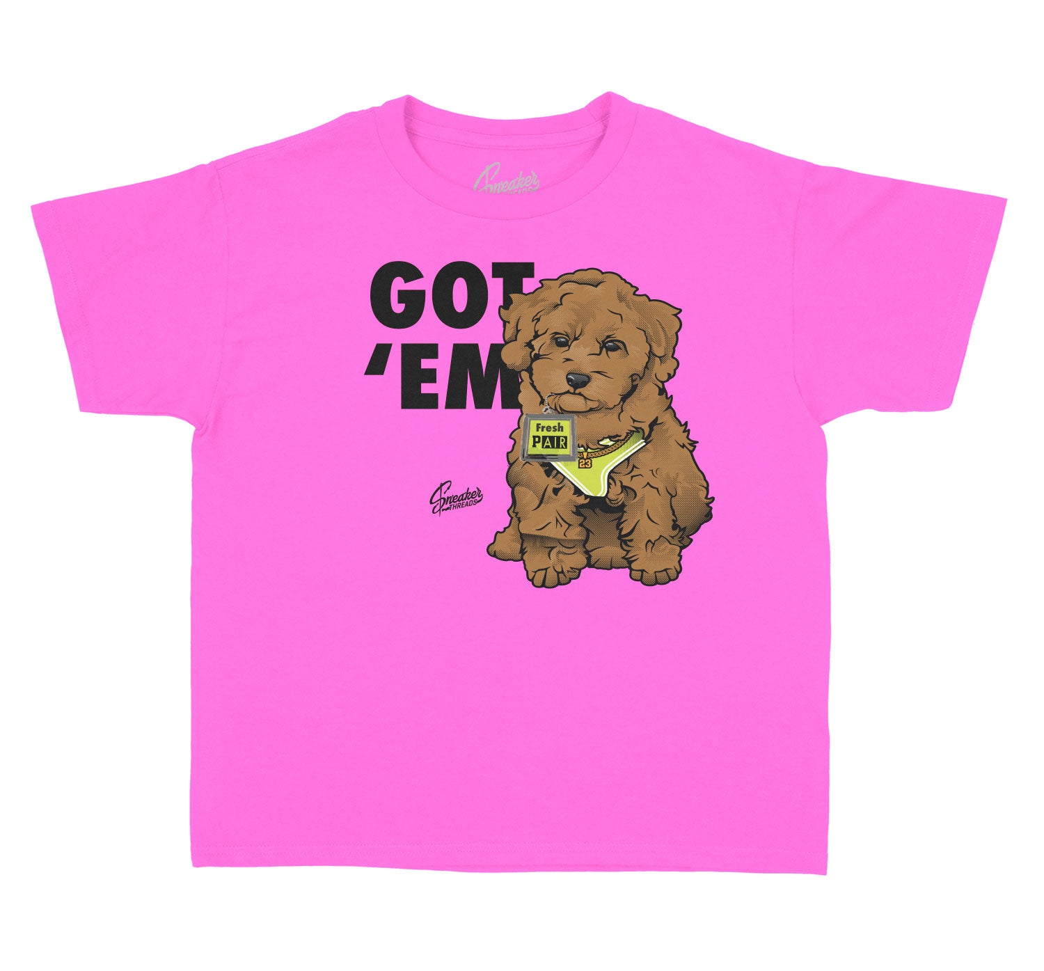 Kids Lemon Venom Shirt - Got Em - Neon Pink