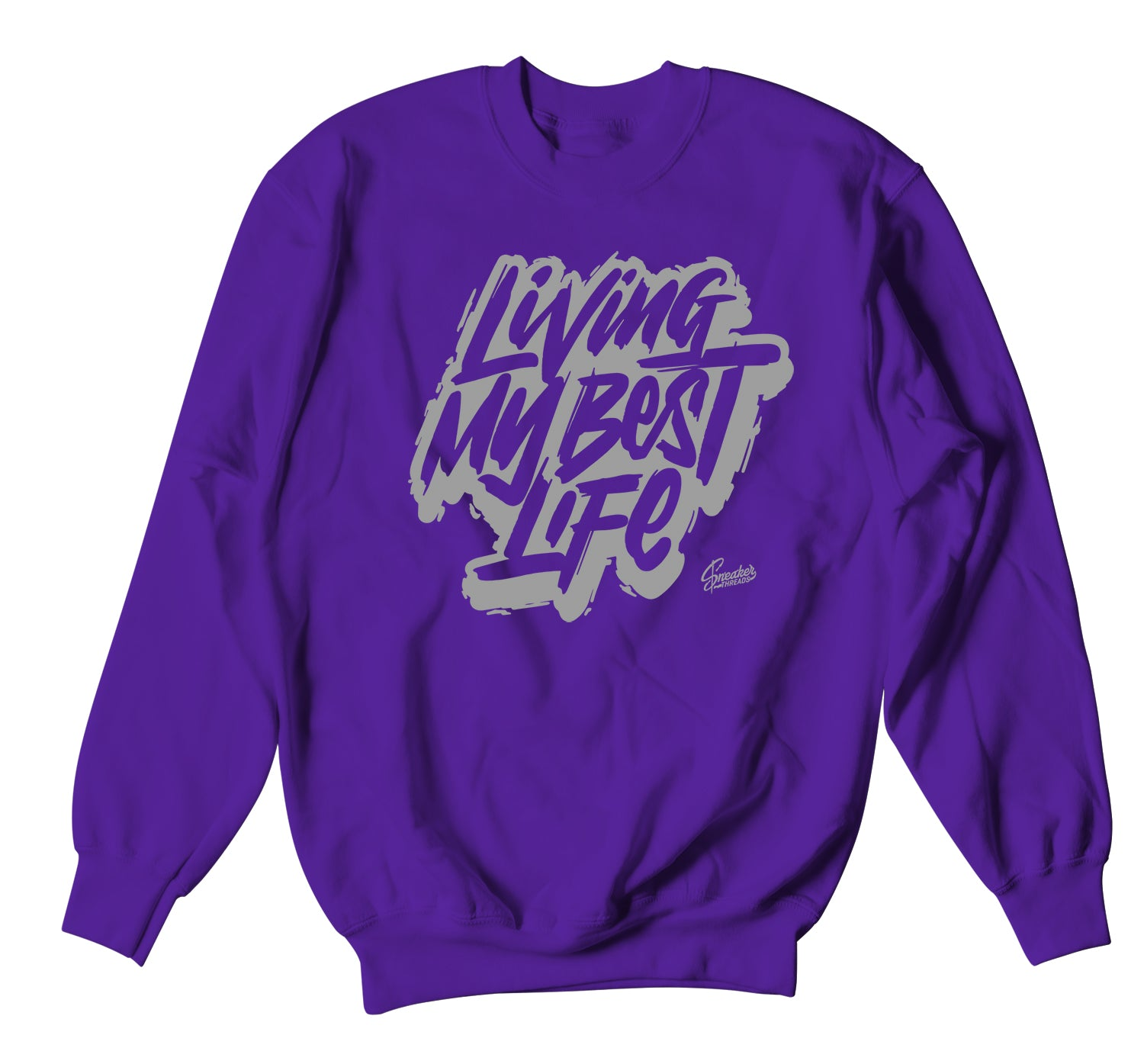 Jordan 1 Mid Unite Sweater - Living Life - Purple