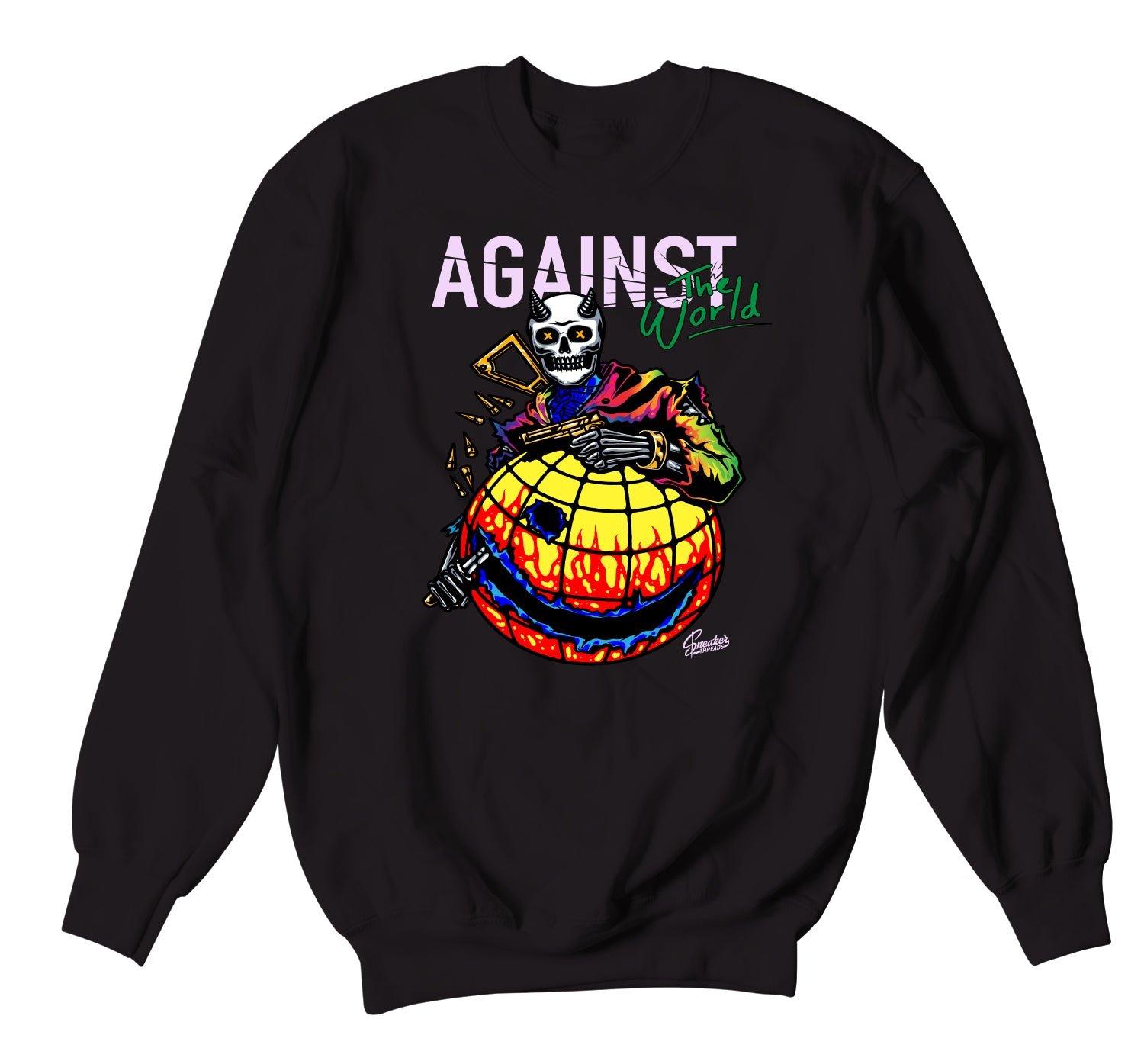 Jordan 1 Balvin Sweater - Against The World - Black