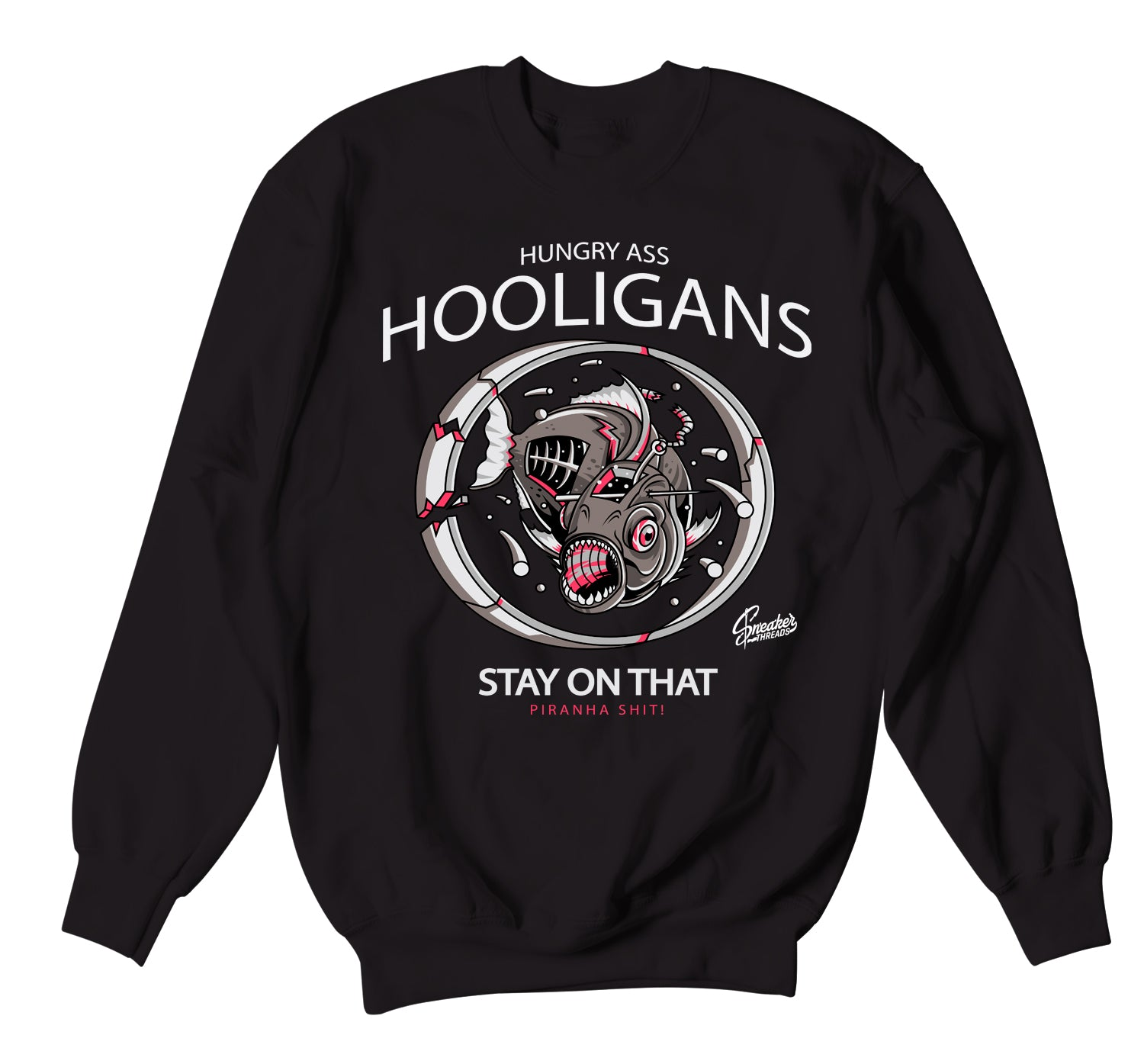 Jordan 4 Taupe Haze Sweater - Hooligans - Black
