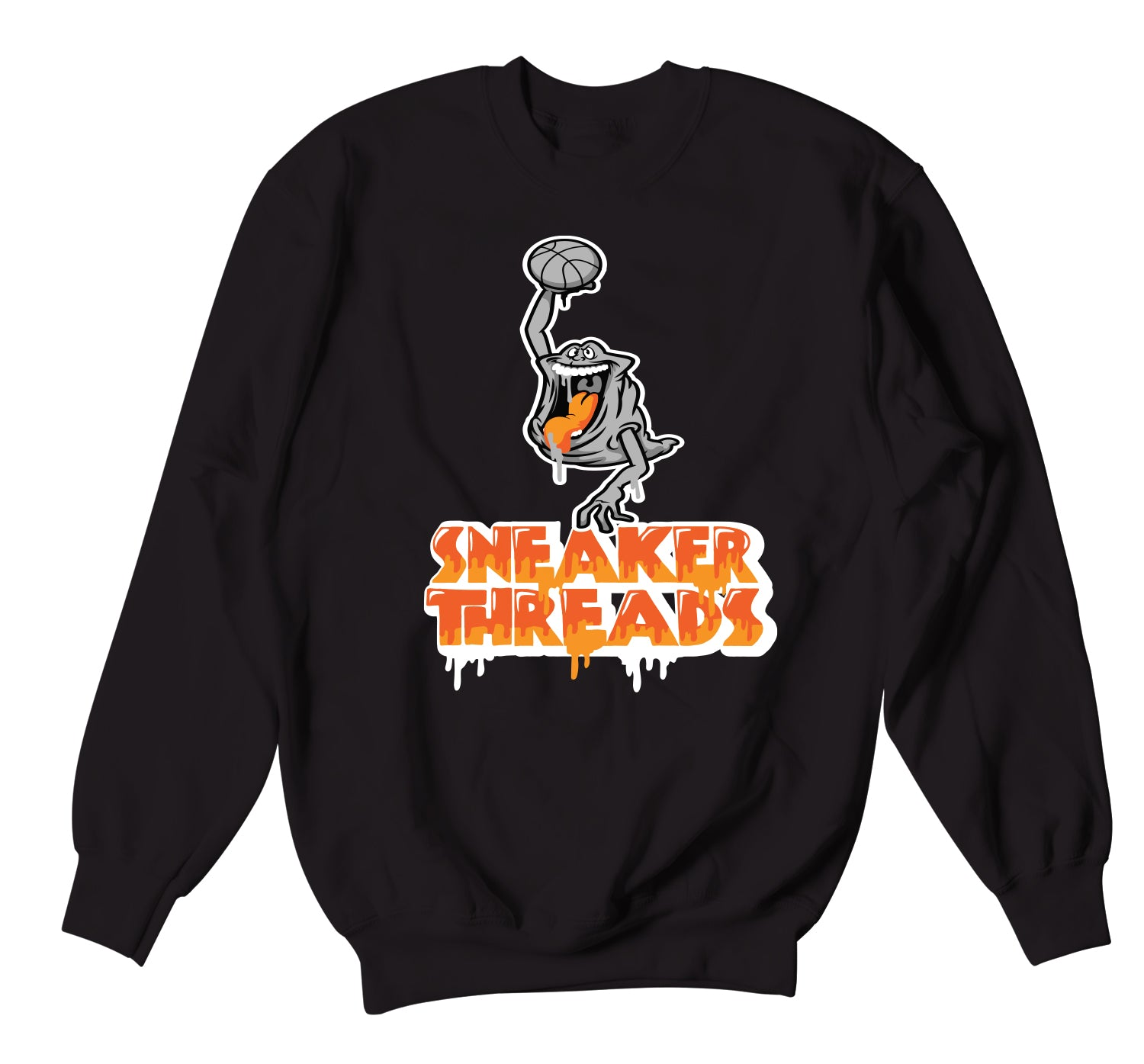 Foamposite Pro Halloween Sweater - Air Slimer - Black
