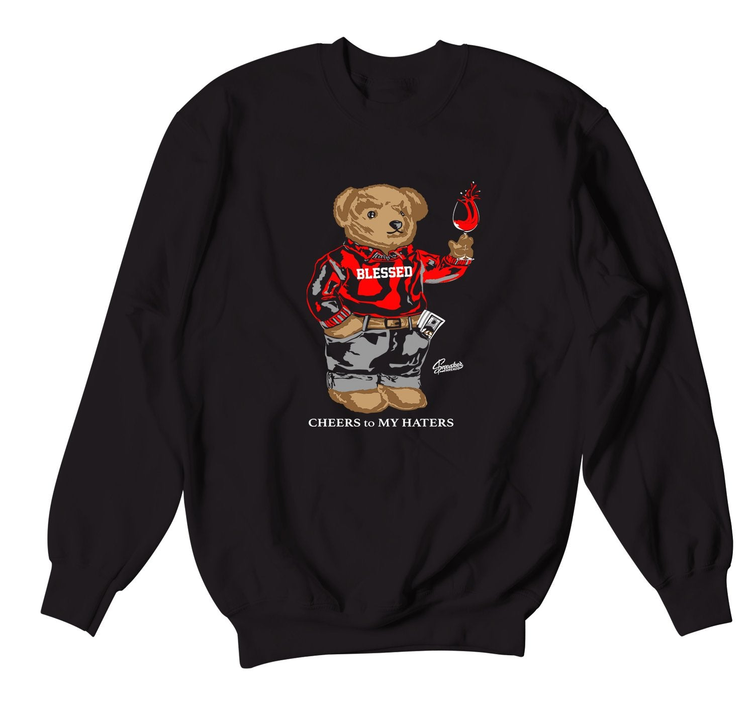 Cheers Bear Sweater to match Red Carpet 17 perfect