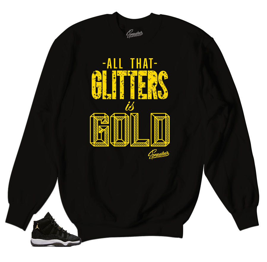 Jordan 11 stingray sweatshirts match | Glitters sweatshirt