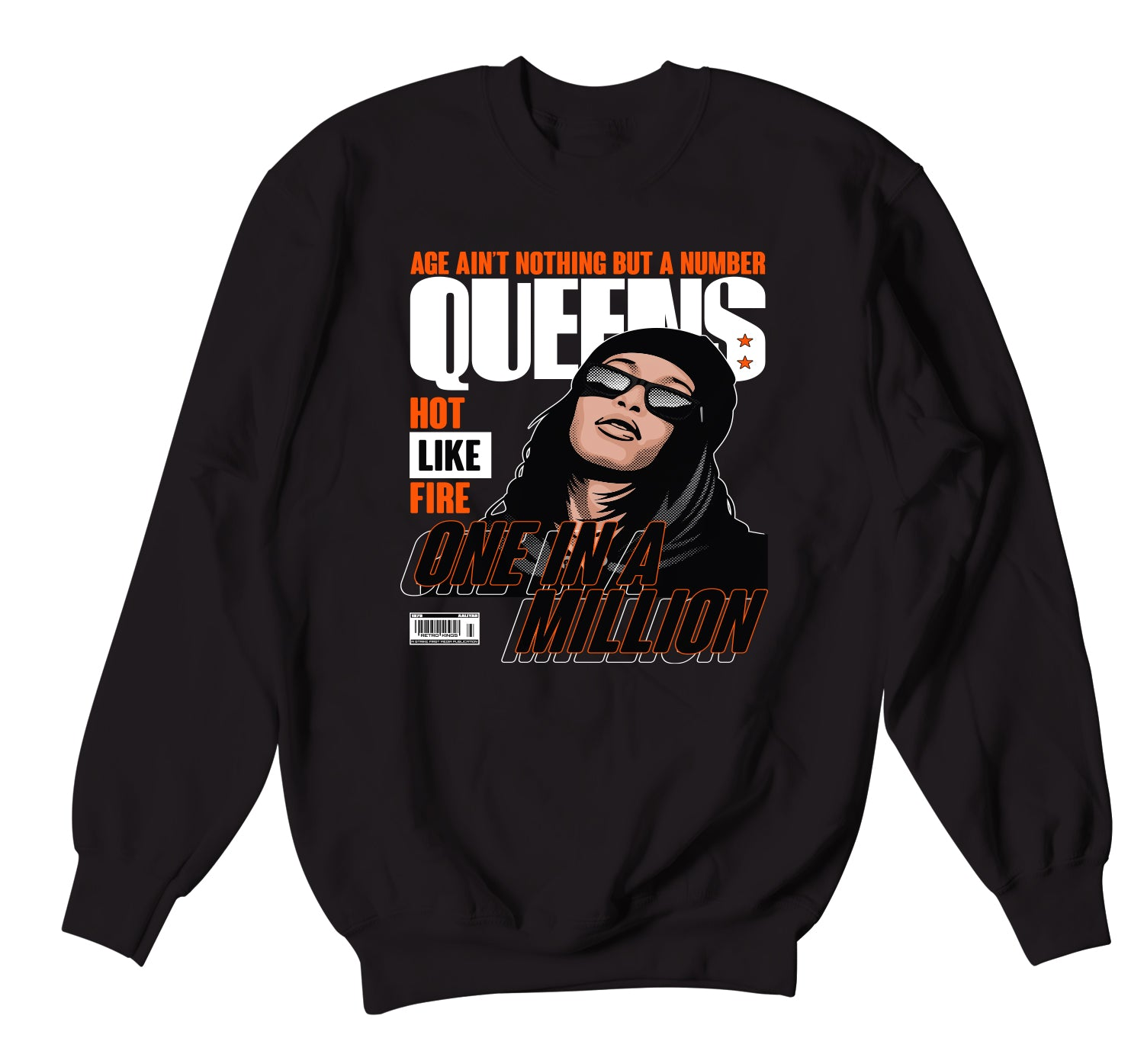 Jordan Starfish Sweater - Queens - Black