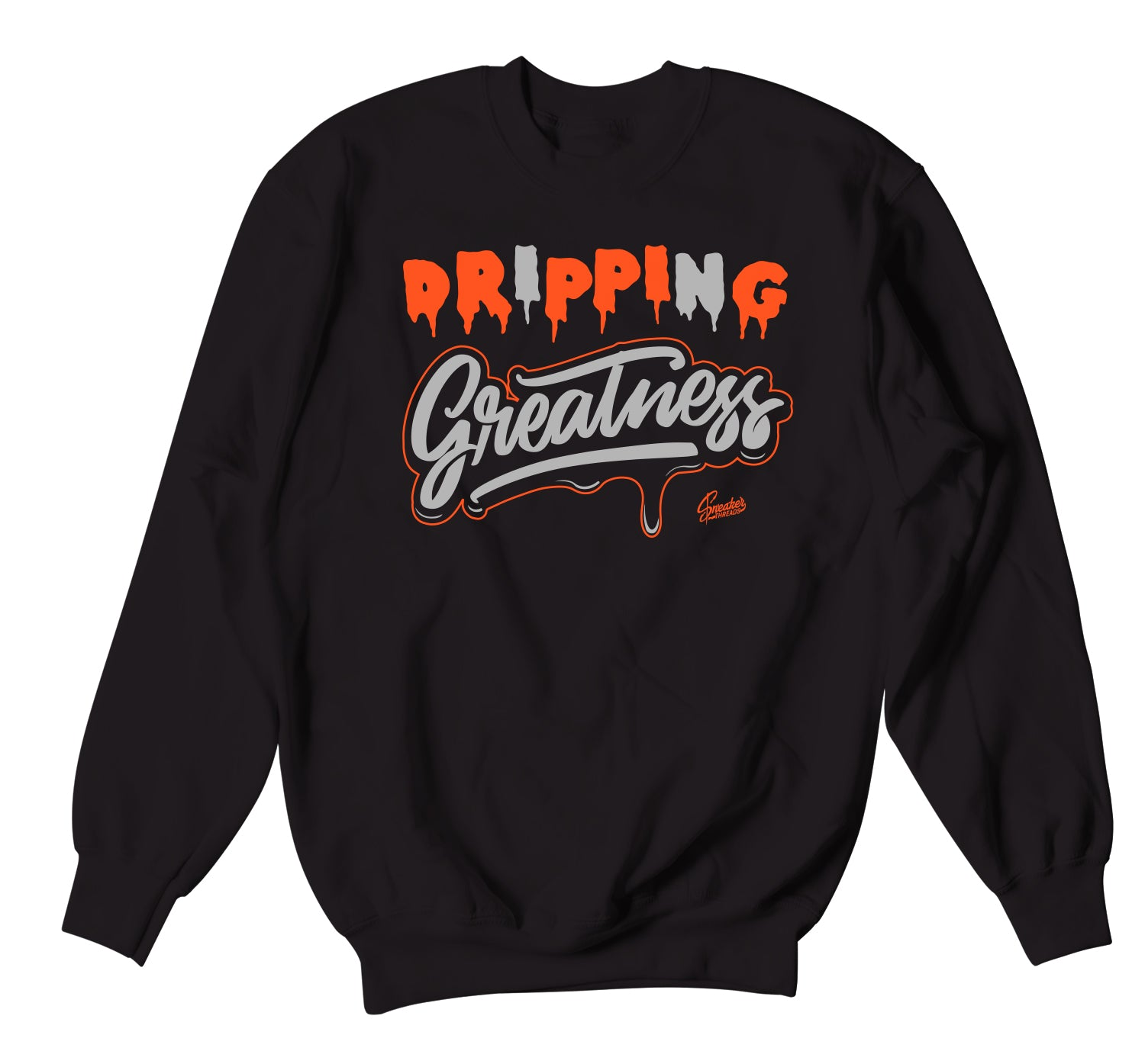 Foamposite Pro Halloween Sweater - Drip Greatness - Black