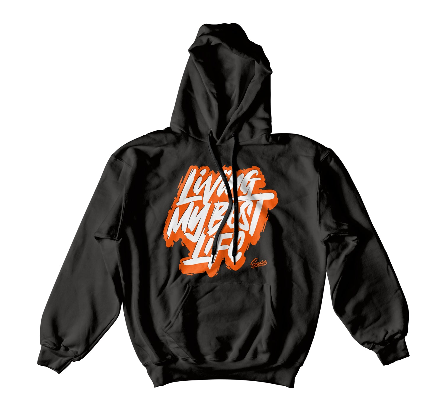 Foamposite Shattered Backboard Hoody - Living Life - Black