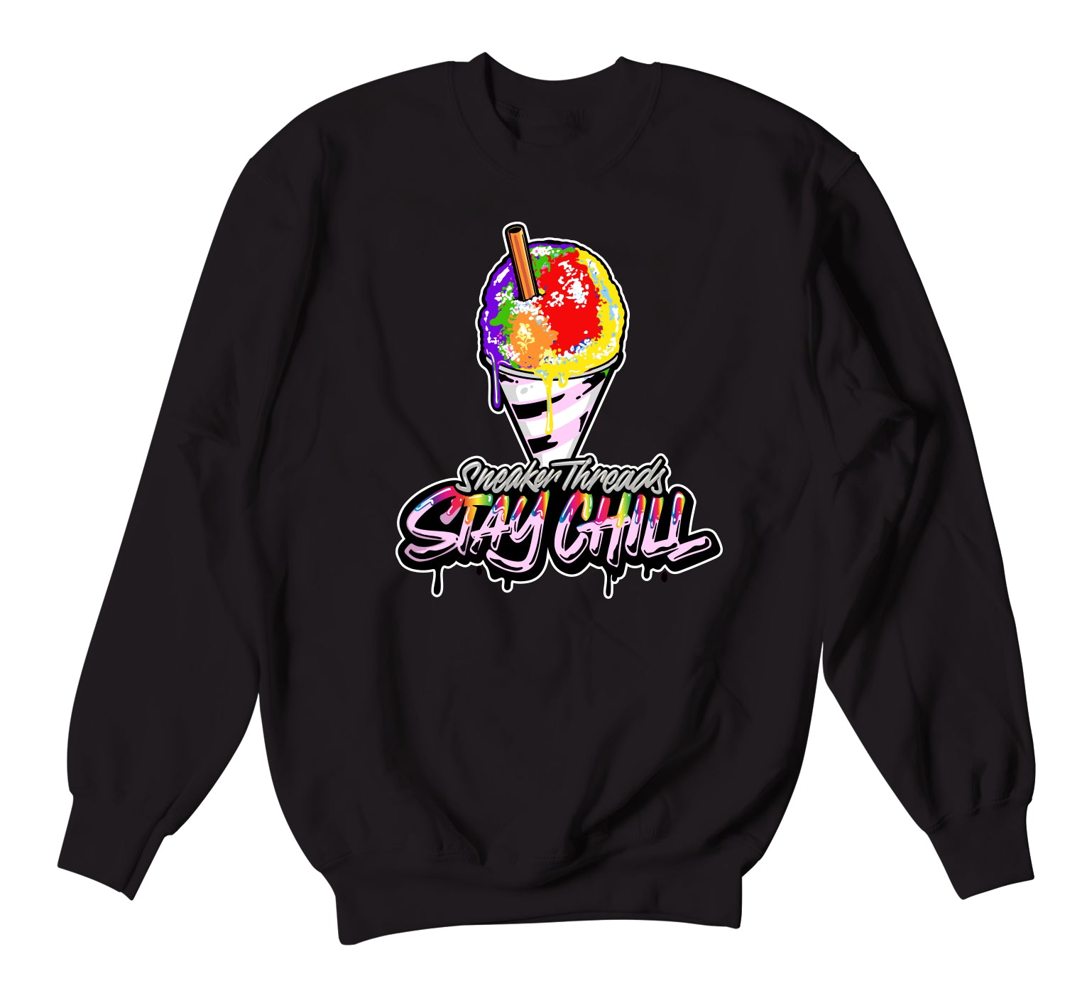 Jordan 1 Balvin Sweater - Stay Chill - Black