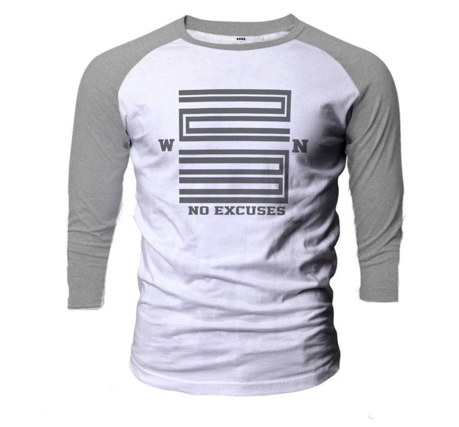Jordan 11 cool grey raglan shirt match retro 11 cool grey.