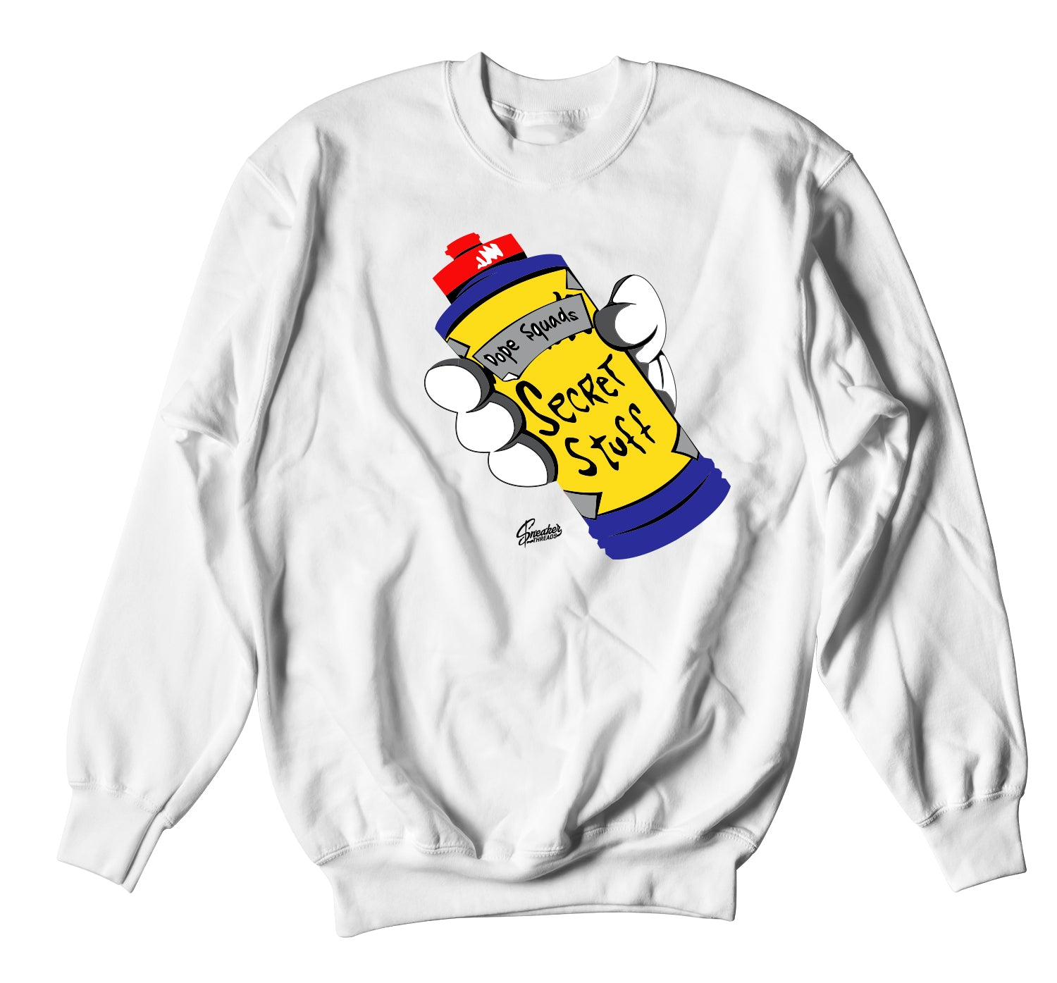 All Star 2020 Tune Squad Sweater  - Secret Stuff - White