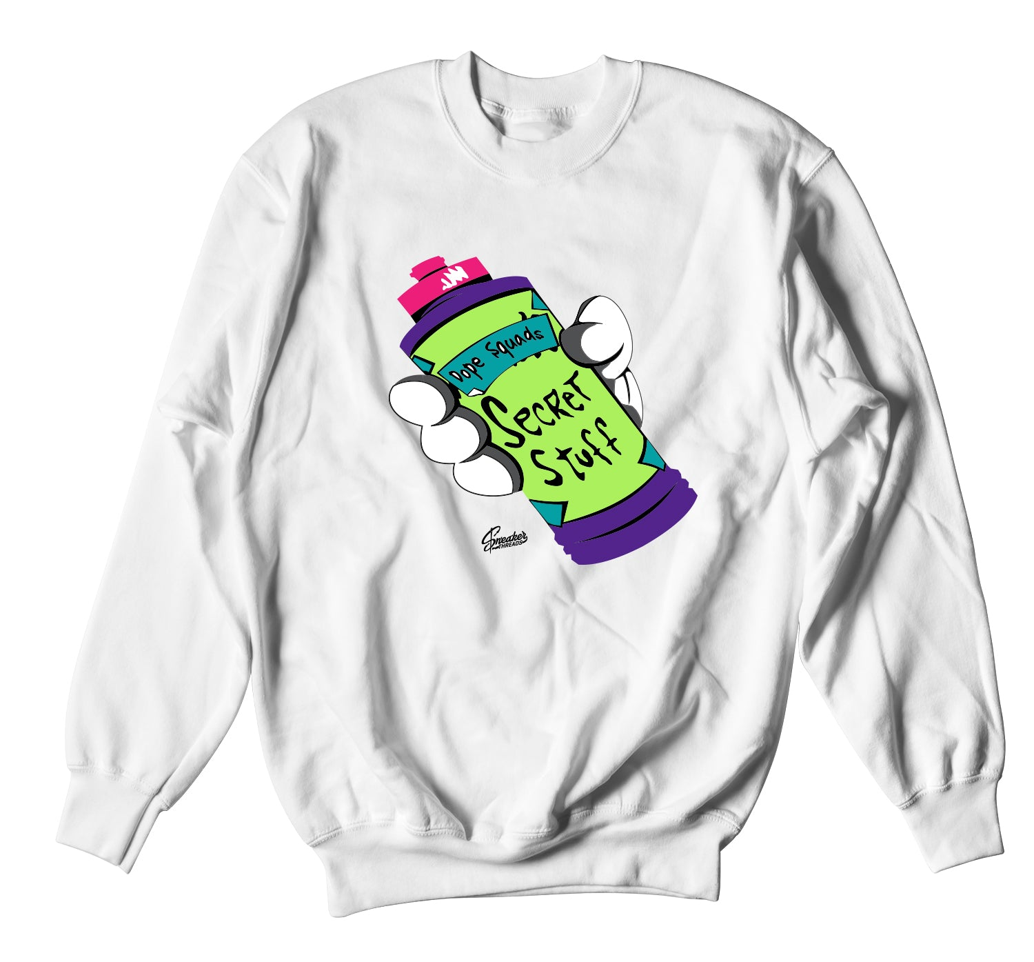 All Star 2020 Swackhammer Sweater  - Secret Stuff - White